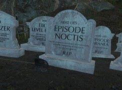 FF fans 自製墓碑 Mod 悼 FFXV DLCs 之死