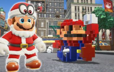 《 Super Mario Odyssey 》推出聖誕老人、8-bit 服裝