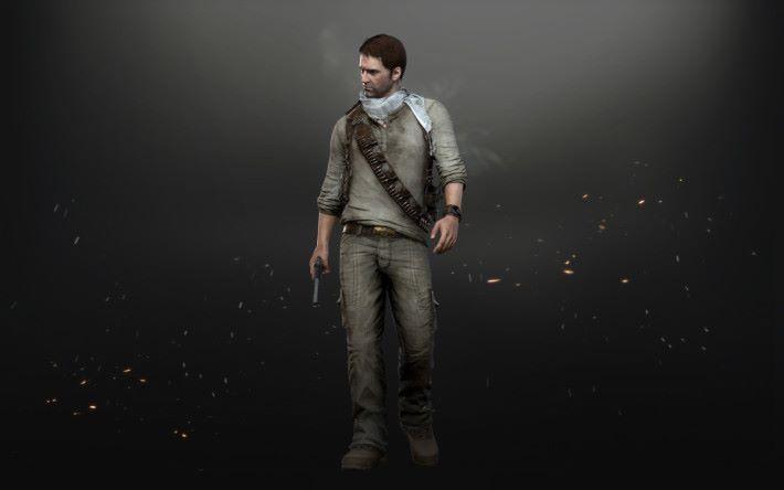 《 Uncharted 》系列主角 Nathan 的造型套裝