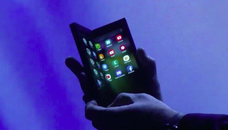 Samsung 正式披露摺屏手機槪念原型 數月來可開始量產