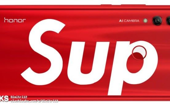 HUAWEI Honor 10 Lite 玩大佢 聯乘 Supreme 推出特別版?