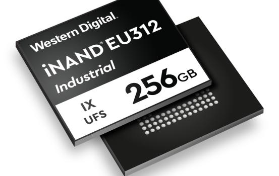 WD 推出首款 UFS 3D NAND 嵌入式記憶體提升攝影機及移動裝置性能