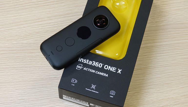 最好用的全景相機? Insta360 ONE X 開箱