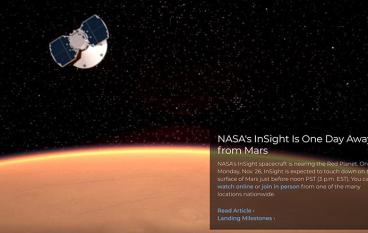 明早 3 點爬起身睇洞察號著陸火星直播!