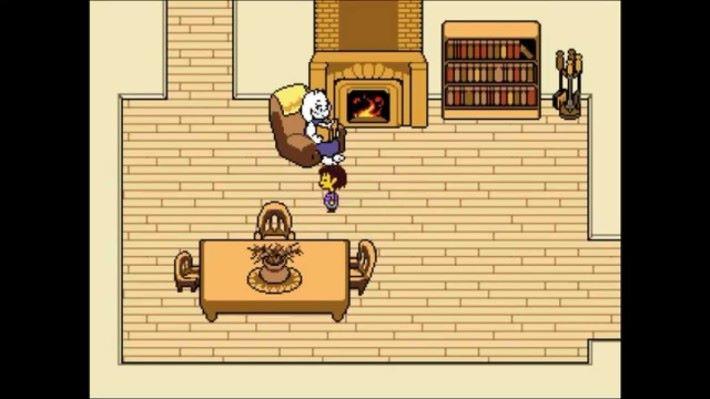 《 Undertale 》中角色 Toriel 的家。