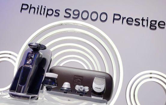 電鬚刨一樣有 Qi + 智能 Philips S9000 Prestige 系列智能感應體現最佳剃鬚效果