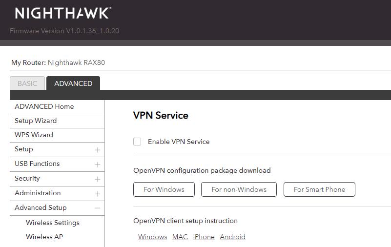 設 OpenVPN Server 功能。