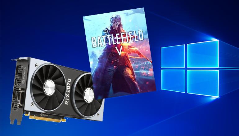 《 Battlefield V 》最先受惠 !? Microsoft 重推 Windows 10 月更新