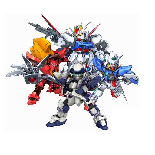 World 03 有驚爆危機、叛逆的魯魯修、高達 00 和高達 Seed 。