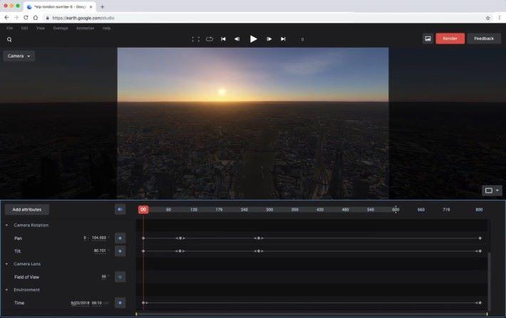 日出日落由你控制,要拍「日與夜」的片完全無難度。最重要的是連色溫都會隨時間自動變化呀!