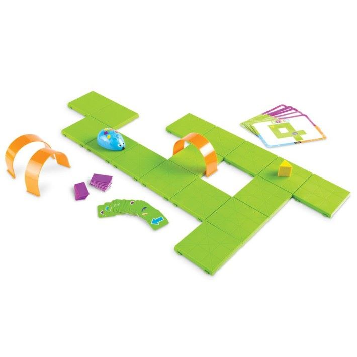 適合 5 歲以上的 Code & Go Robot Mouse Activity Set https://www.learningresources.com