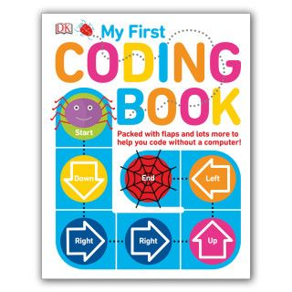 適合 5 歲以上的 My First Coding Book  http://www.prottsman.com