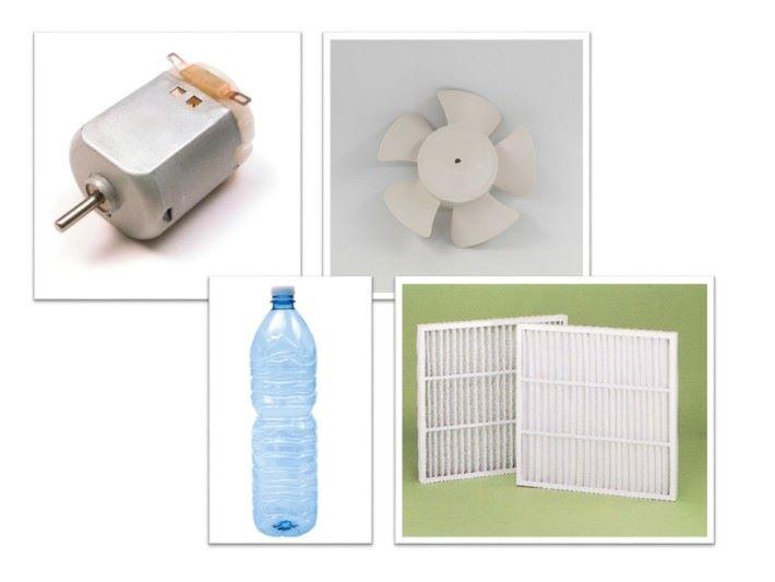 扇葉︑摩打︑收集瓶和過濾網是吸塵機的基本元件。
