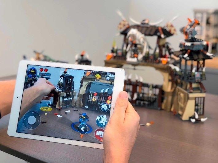 目前能支援的 LEGO 為 Ninjago 、 Dieselnaut 及 Dragon's Pit 三個系列。