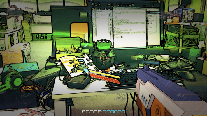 單人模式就可讓玩家與外星機械人戰鬥