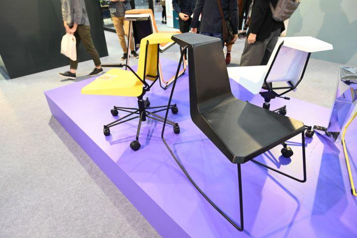 用家可替椅子更換多種不同椅腳,以迎合各種不同需要。