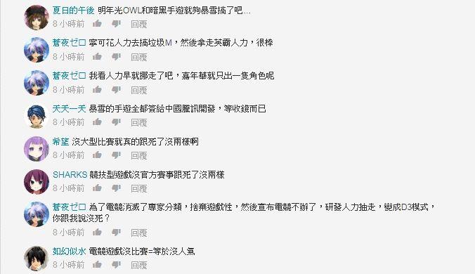 台灣討論區玩家認為遊戲「已死」。