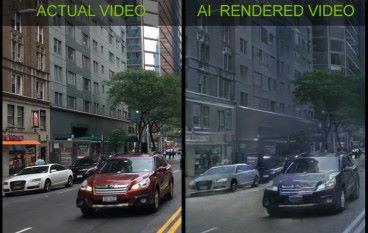 用影片建立虛擬世界 NVIDIA 運用 AI 減低遊戲開發成本