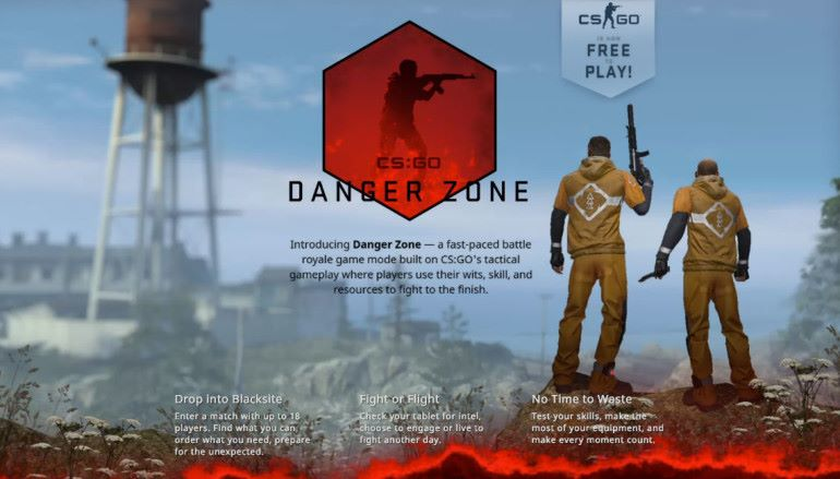 《 CS : GO 》免費!新增大逃殺模式「 Danger Zone 」