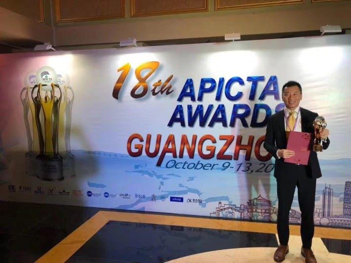 TravelFlan 更上一層樓,羸得「亞太資訊及通訊科技大獎 - 消費類別-娛樂及酒店」獎項。