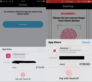 Apple Pay 交易介面突然彈出來,縮手不及就會付款。