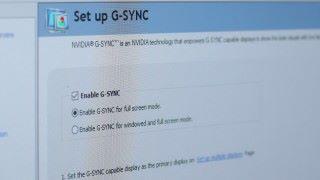 支援 G-Sync 技術的屏幕,可以解決高刷新率時畫面撕裂、幀數不穩定以及延遲的問題。
