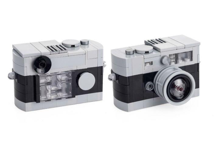 黑色 LEGO Leica M