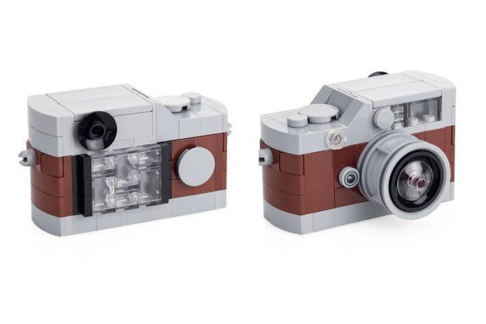 啡色 LEGO Leica M