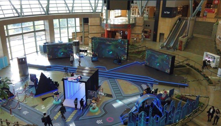 數碼港電競館見雛形  明年6月落成可容500人