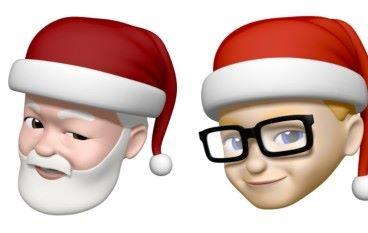 Memoji 新加聖誕帽 仲可以變色 ?