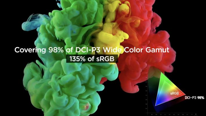 如 LG 34GK950G 的 nano IPS 技術屏幕,提供 135% sRGB 色域,層次會更加豐富。