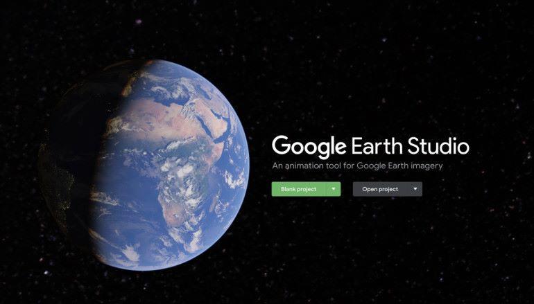初試 Google Earth Studio 港島航拍