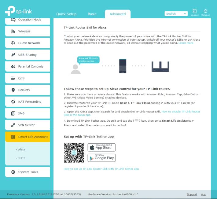 支援 Alexa 語音指令和 IFTTT 智能家居自動化設定。