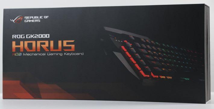 指定 ROG 筆電送 Hours GK2000 RGB 機械鍵盤。