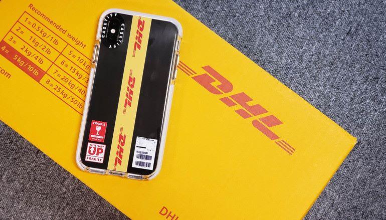 wholesale dealer 9f899 924ab 賣到斷貨DHL x CASETiFY 別注版手機殼及錶帶夠玩味賣到斷貨DHL x ...