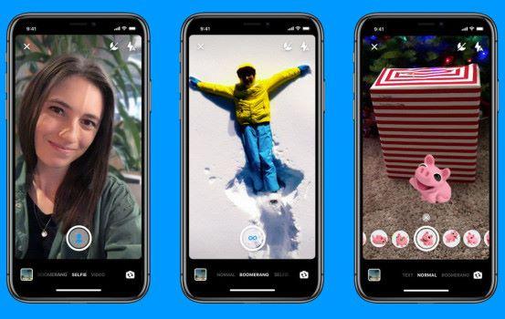 Facebook Messenger 將加入人像拍攝功能