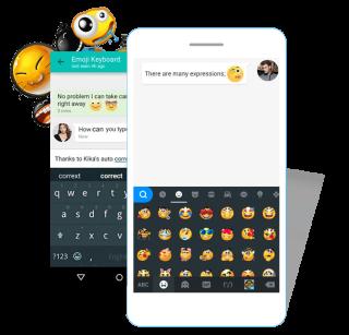 Kika Keyboard 是 Android 上非常受歡迎的鍵盤軟件