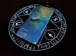 打开无线充电黑魔法 魔法阵充电盘