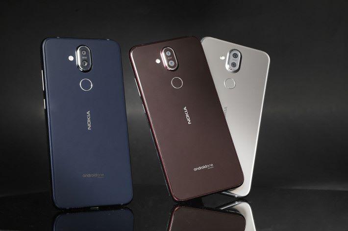 Nokia 8.1有強大功能,又有三種顏色選擇,加上 Nokia 品牌效應,實在抵玩。