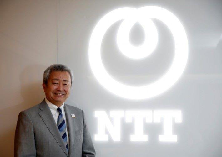 NTT 集團澤田社長鮮有地表示對於華為產品安全的關注。