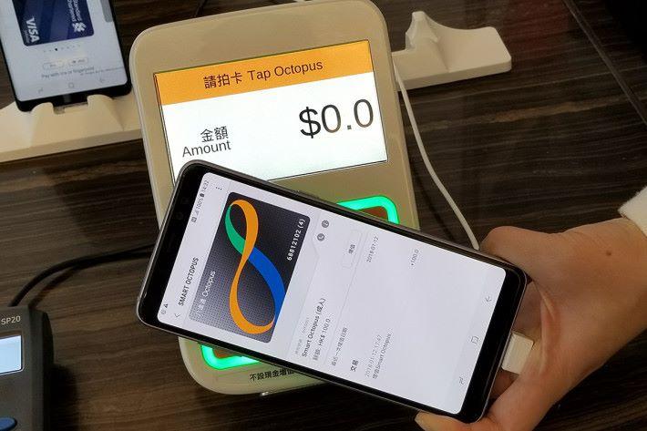 Samsung Pay Smart Octopus 為手機用戶日常生活帶來更大的便利。