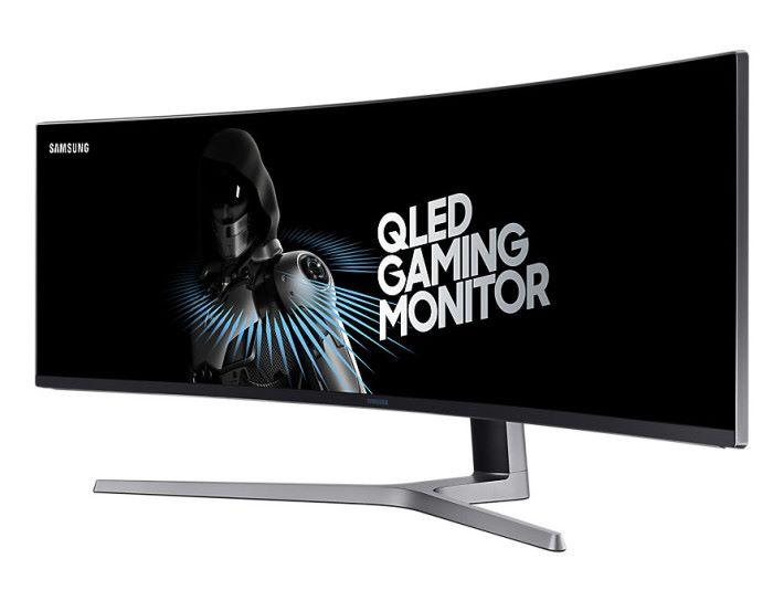 Samsung QLED 電競屏幕產品,針對高消費力遊戲族群
