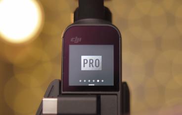 Osmo Pocket 有「 Pro」mode