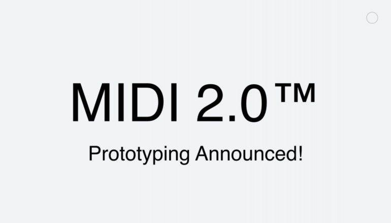 沿用 38 年後終升級 MIDI 2.0 計劃始動!