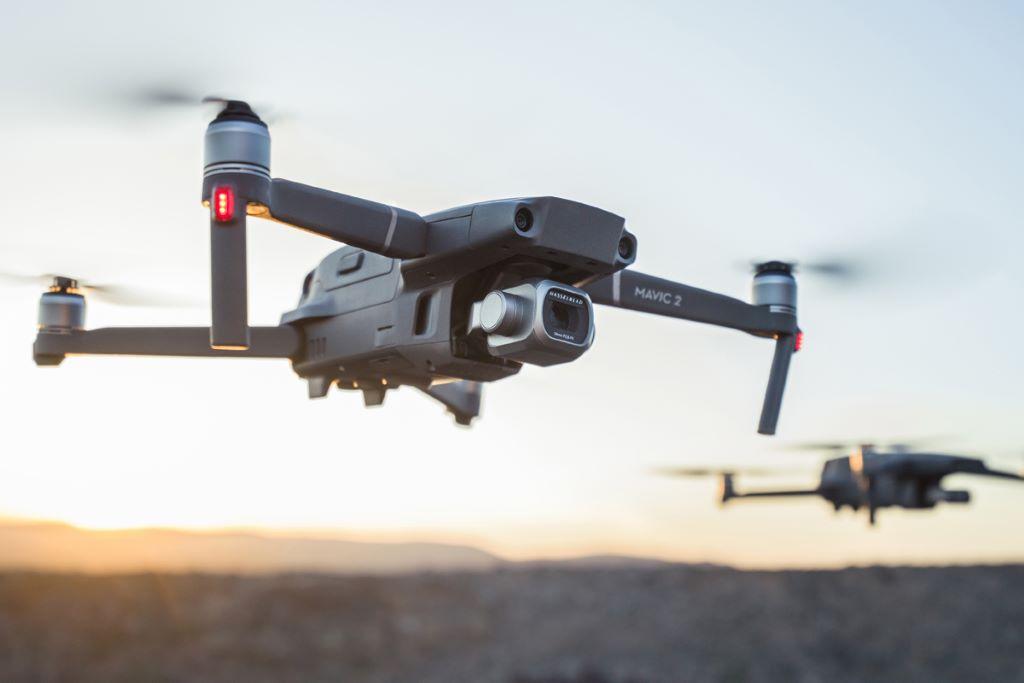DJI 的無人機產品,市佔率佔全球 70% 以上。