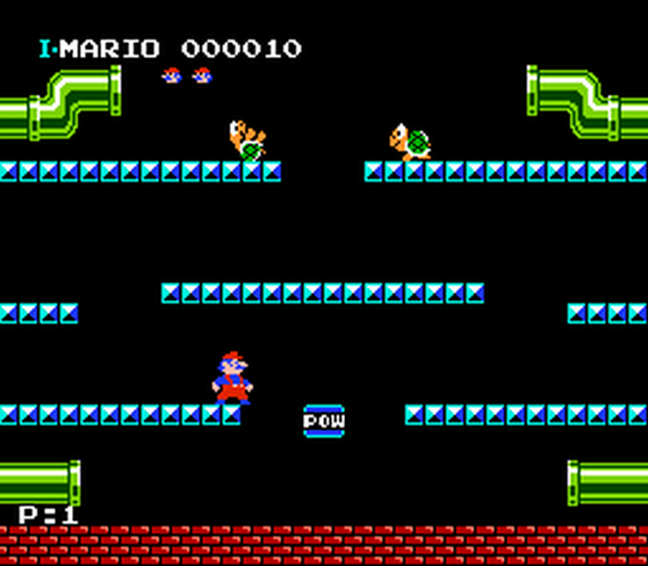 早期家用遊戲都以《瑪利歐兄弟》這類型循環類遊戲為主。