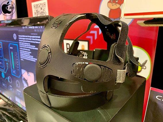 《髓~ZUI 》的專用腦波測計裝置