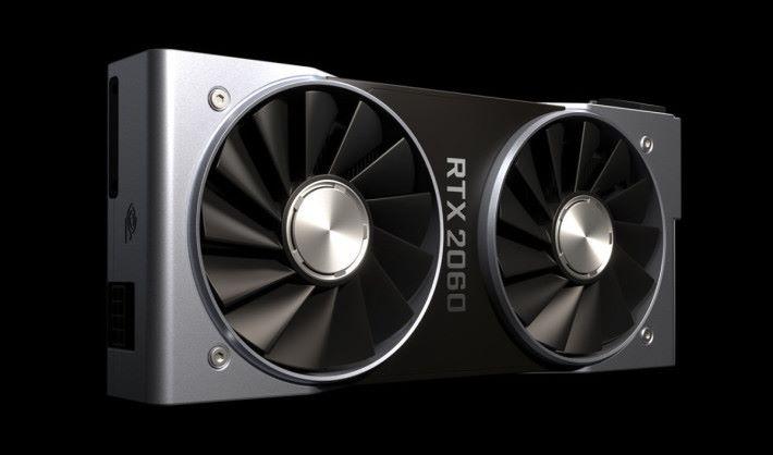 NVIDIA RTX 2060 公板將採用「煤氣爐」散熱器