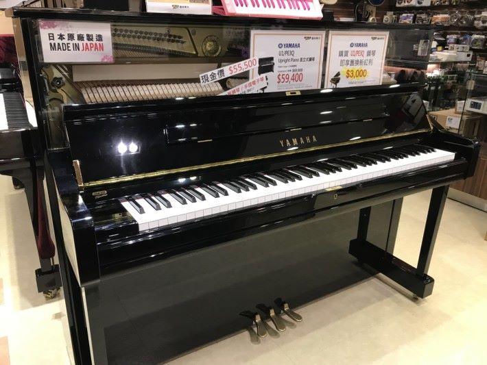 一座標準鋼琴的琴鍵就由52個琴鍵和36個升降 鍵所組成,共有88個琴鍵。