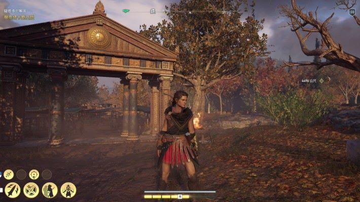 《Assassin's Creed Odyssey》於極高畫質設定之下,遊戲影像精密細緻,而 Alienware Aurora 系列仍能保持畫面的流暢自然。